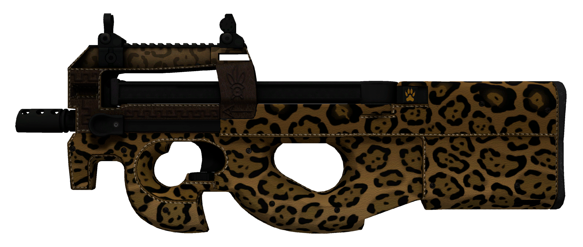 P90 Run and Hide Large Rendering