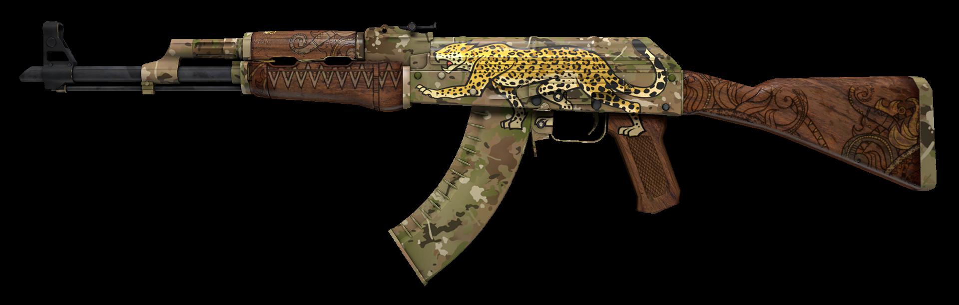 AK-47 Panthera onca Large Rendering