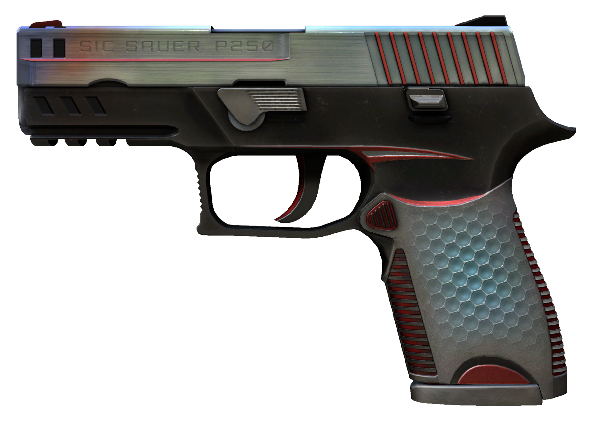 P250 Cyber Shell Large Rendering