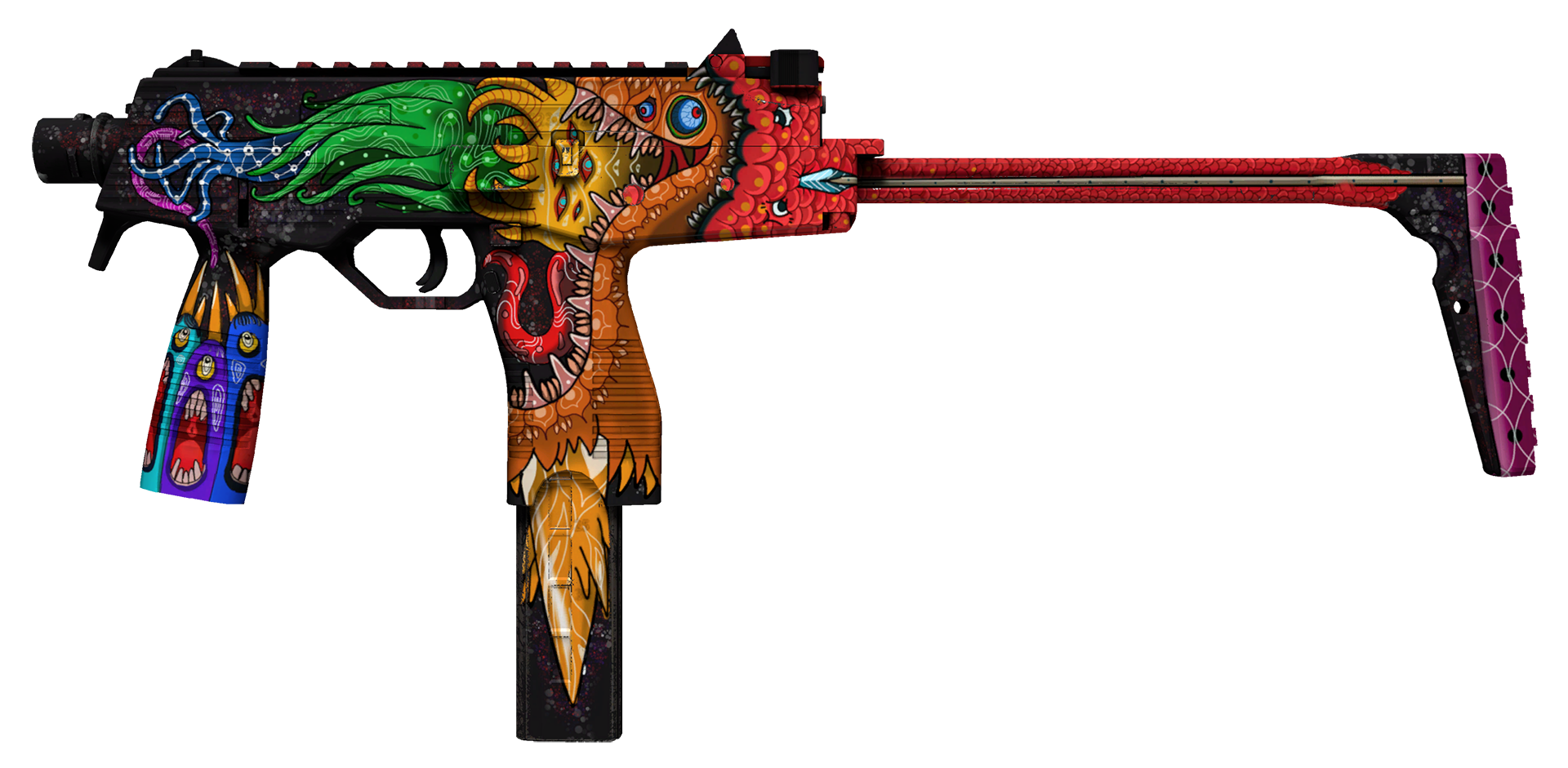 MP9 Food Chain Large Rendering