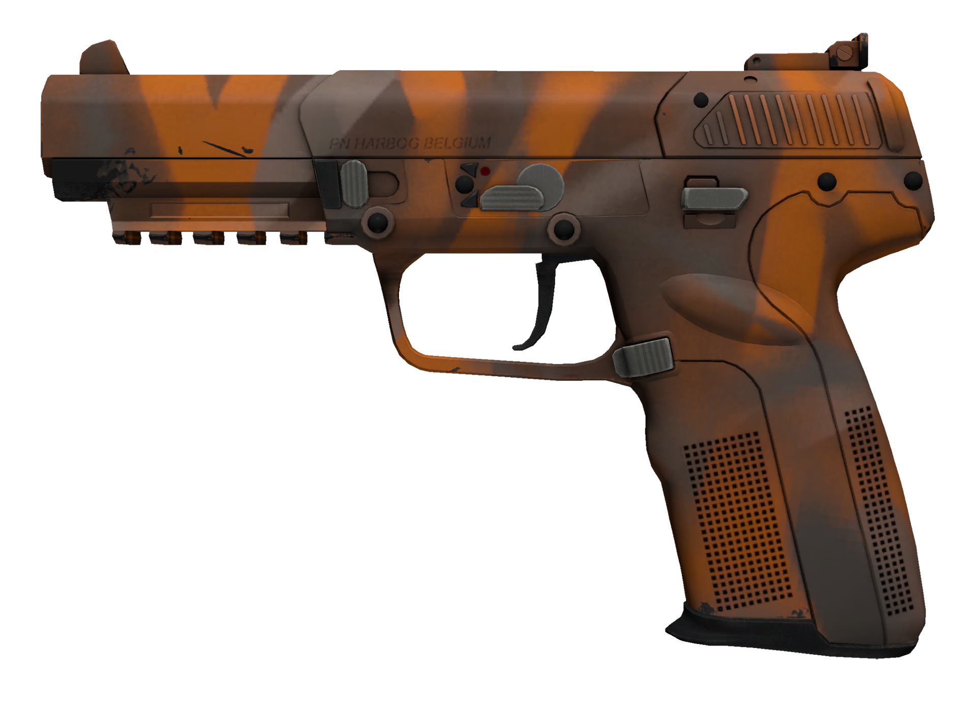 Five-SeveN Orange Peel Large Rendering