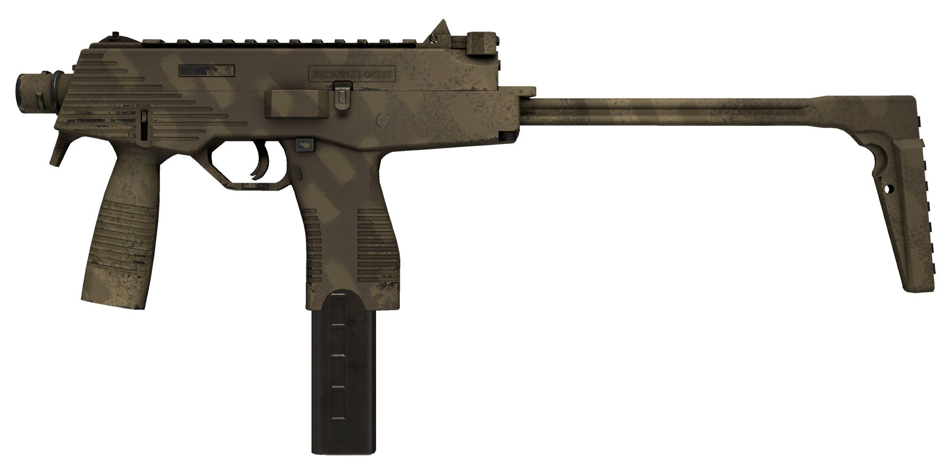 MP9 Sand Dashed Large Rendering