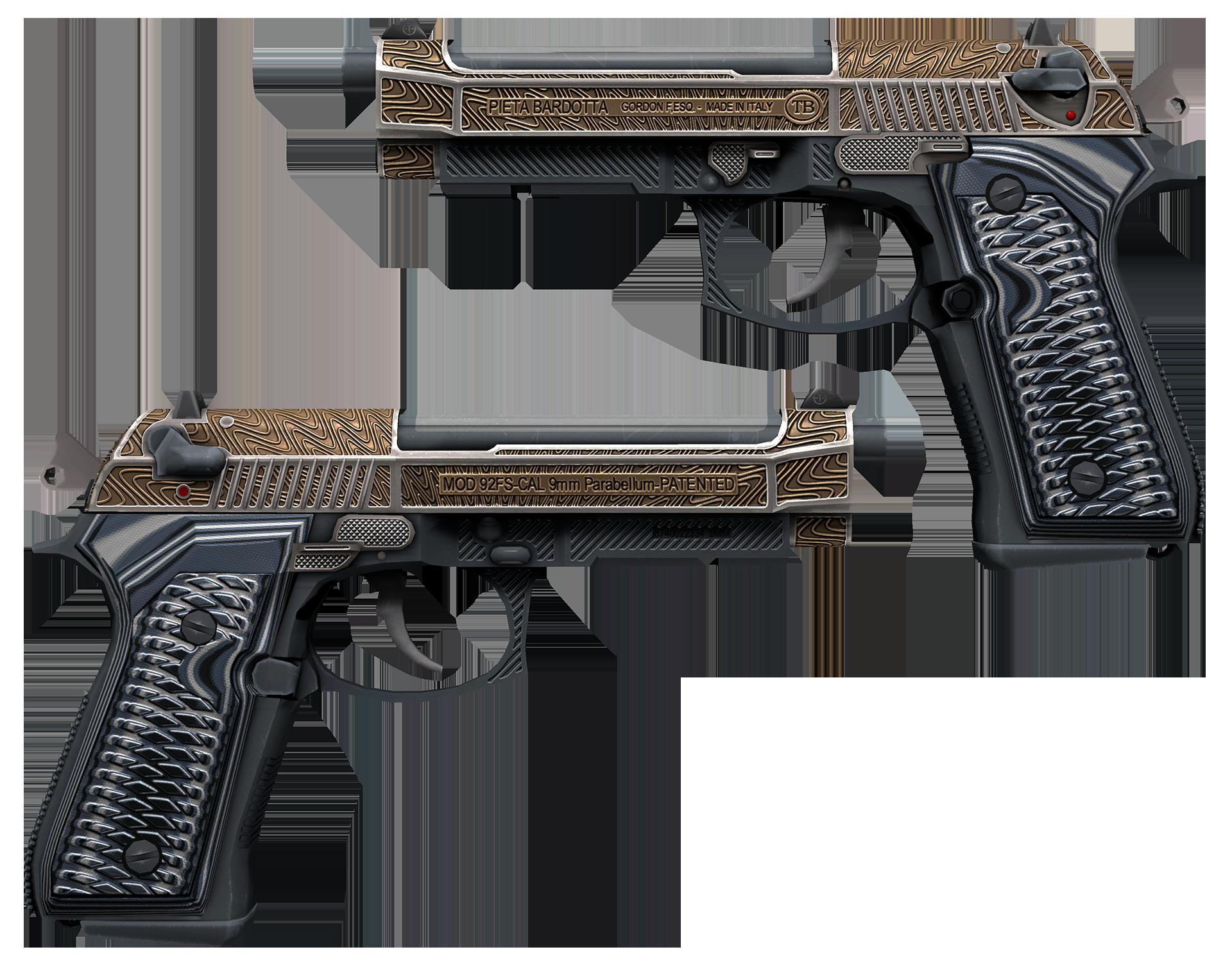 Dual Berettas Tread Large Rendering