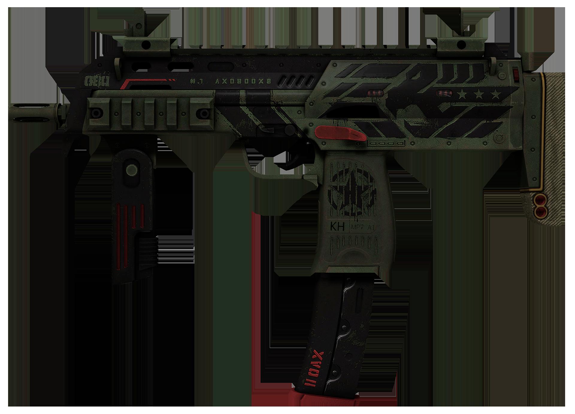 MP7 Guerrilla Large Rendering
