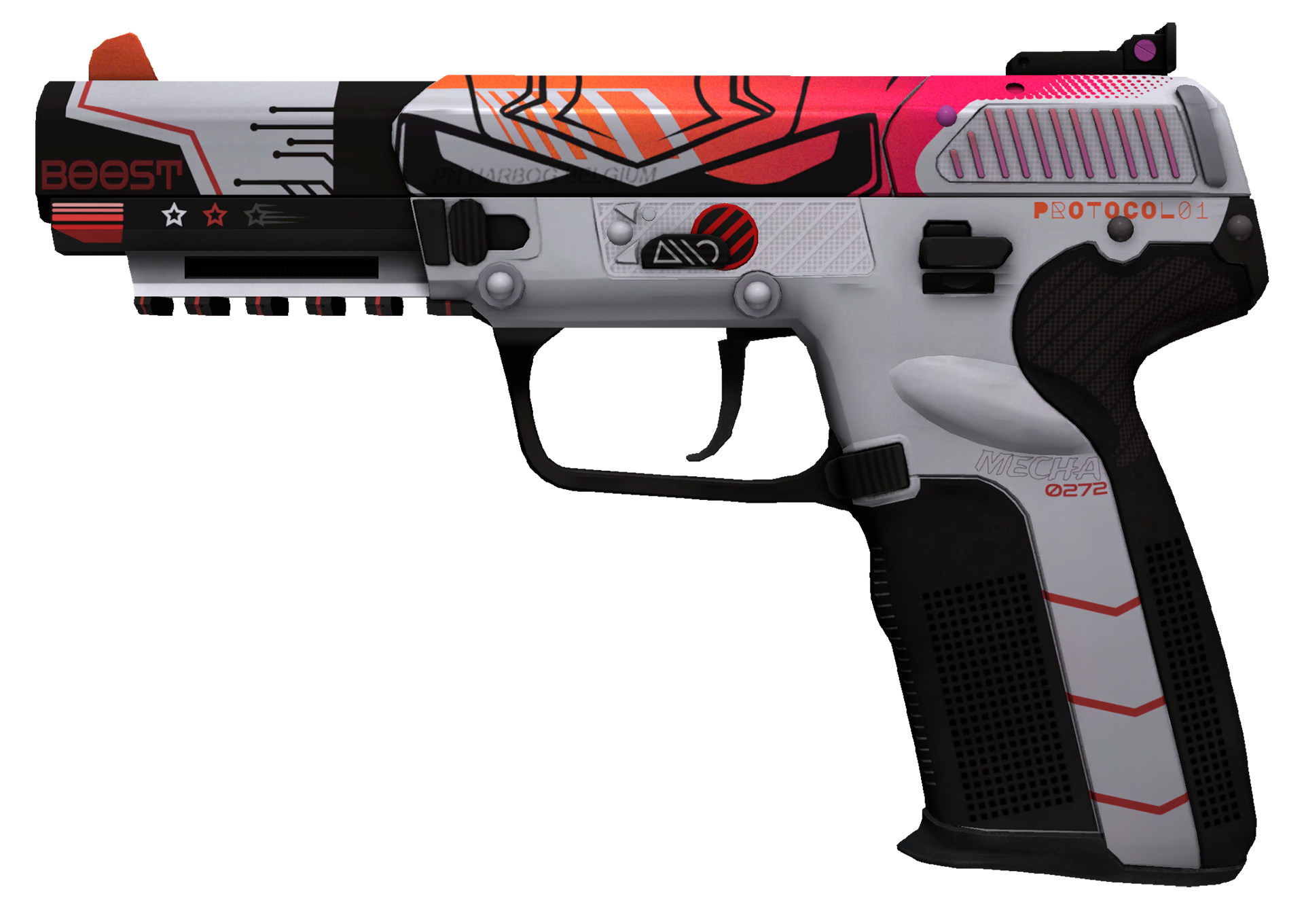Five-SeveN Boost Protocol Large Rendering