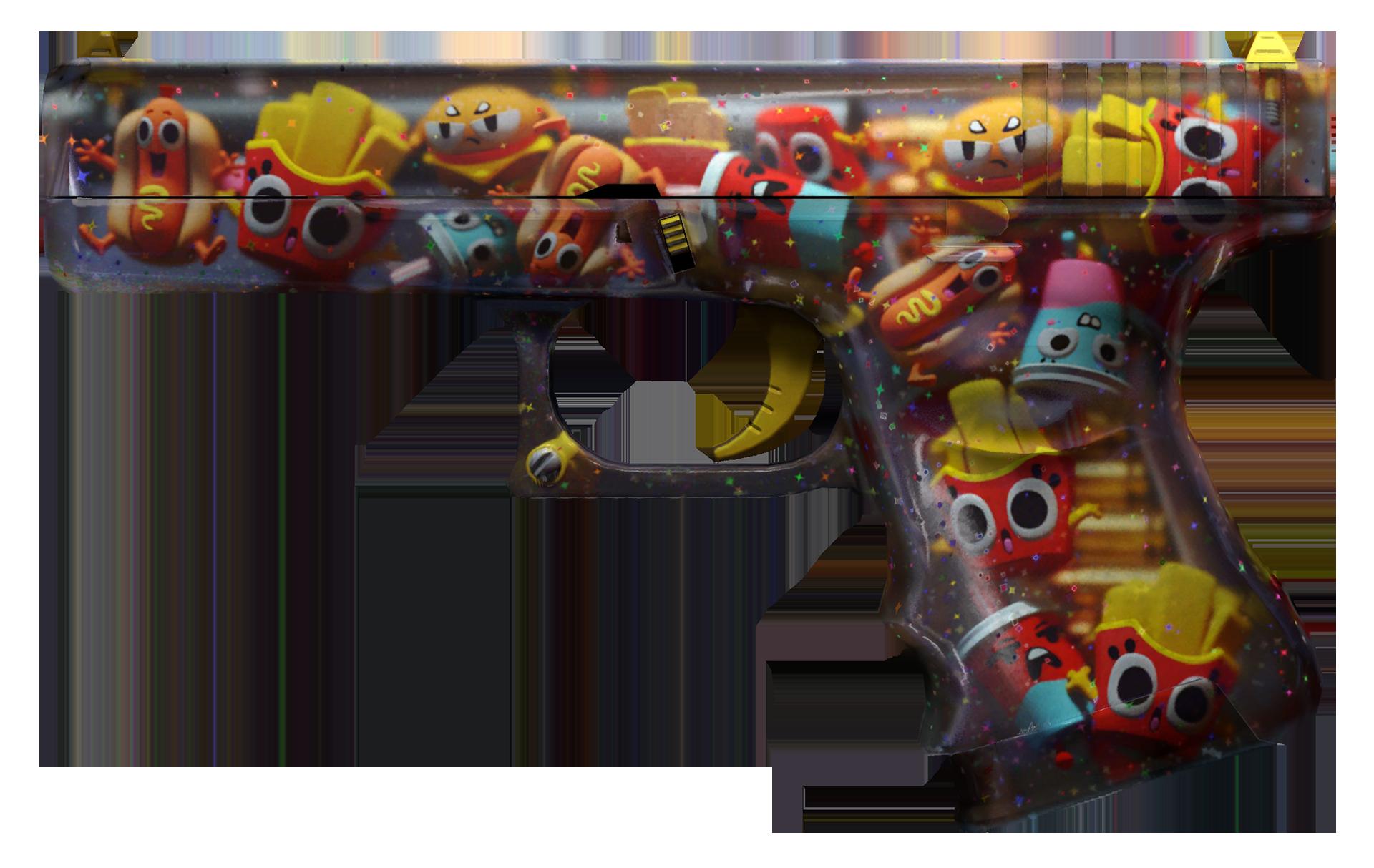 Glock-18 Snack Attack Large Rendering