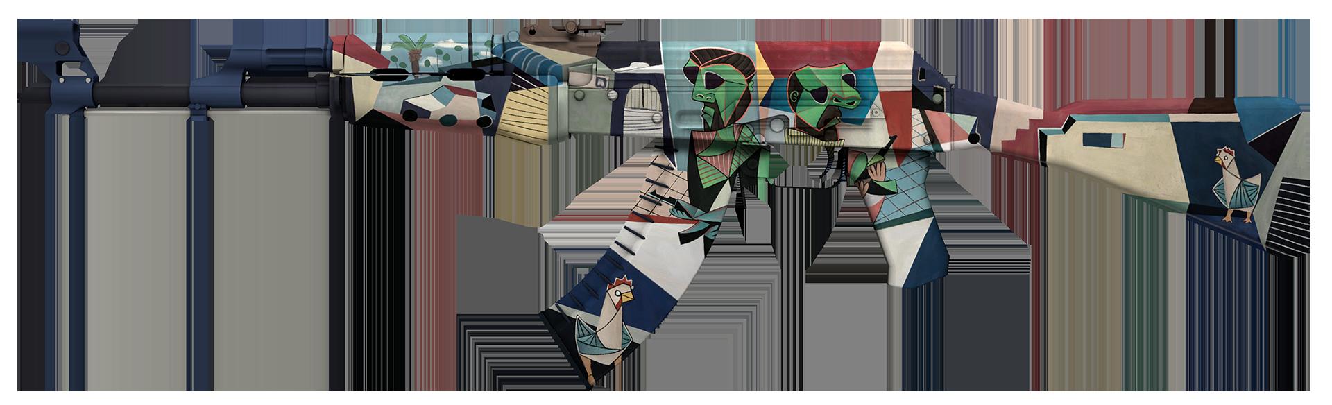 AK-47 Leet Museo Large Rendering