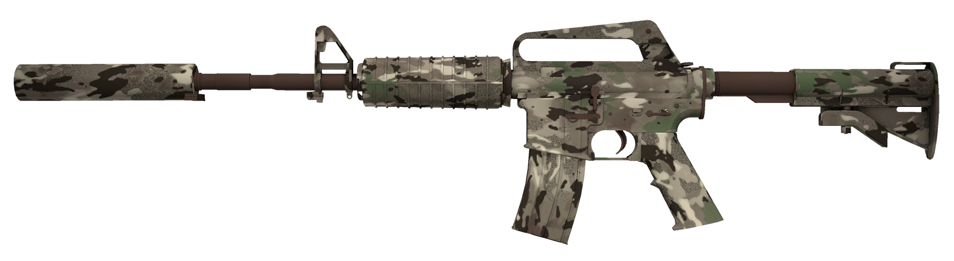 M4A1-S VariCamo Large Rendering