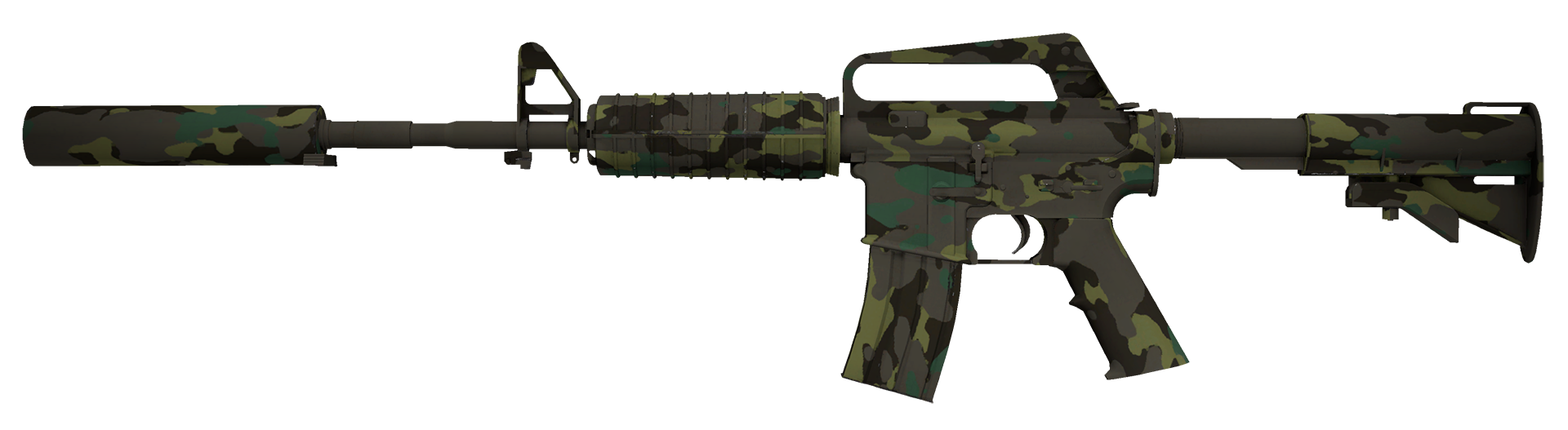 M4A1-S Boreal Forest Large Rendering