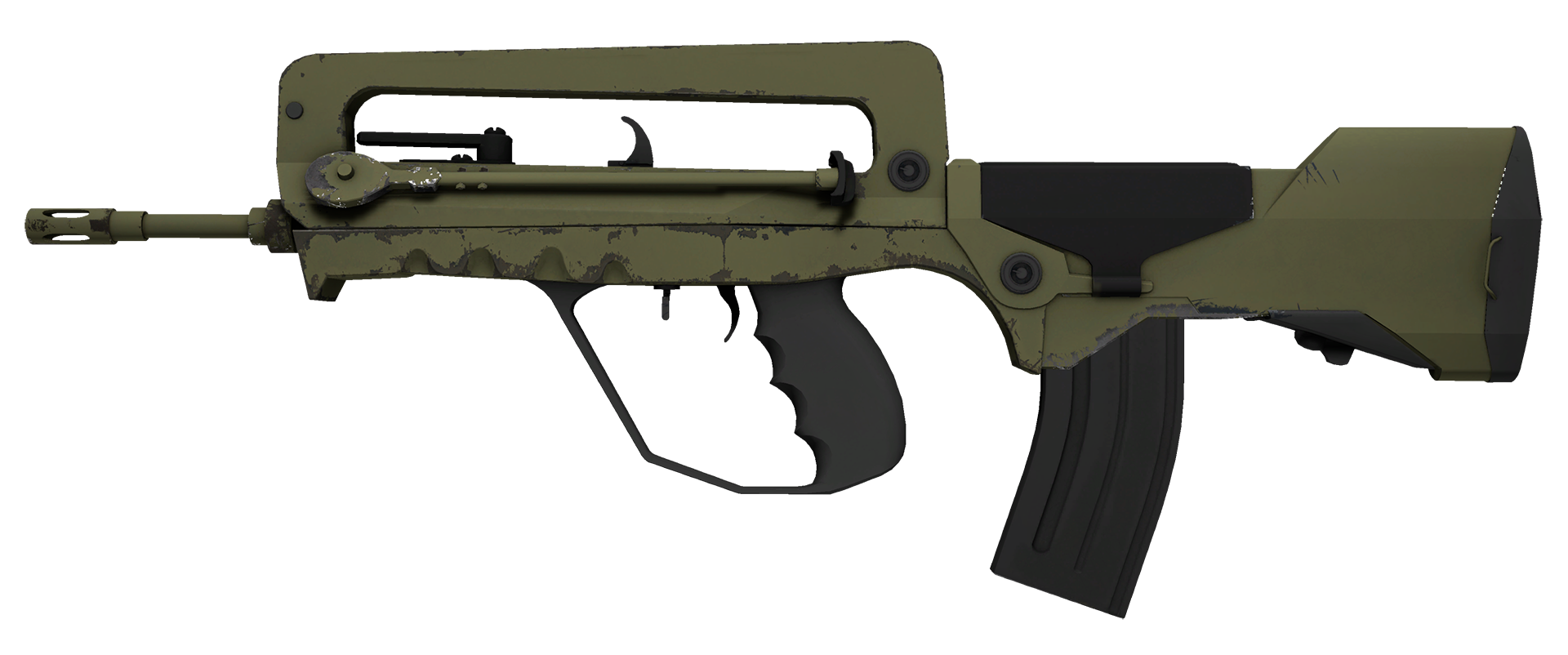 FAMAS Colony Large Rendering
