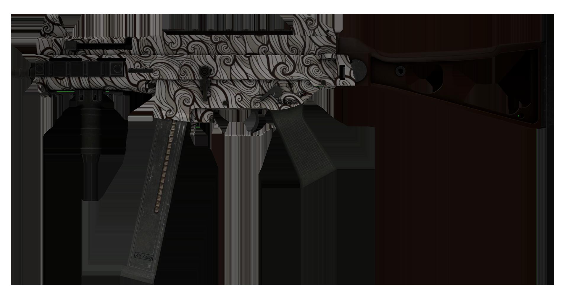 UMP-45 Gunsmoke Large Rendering