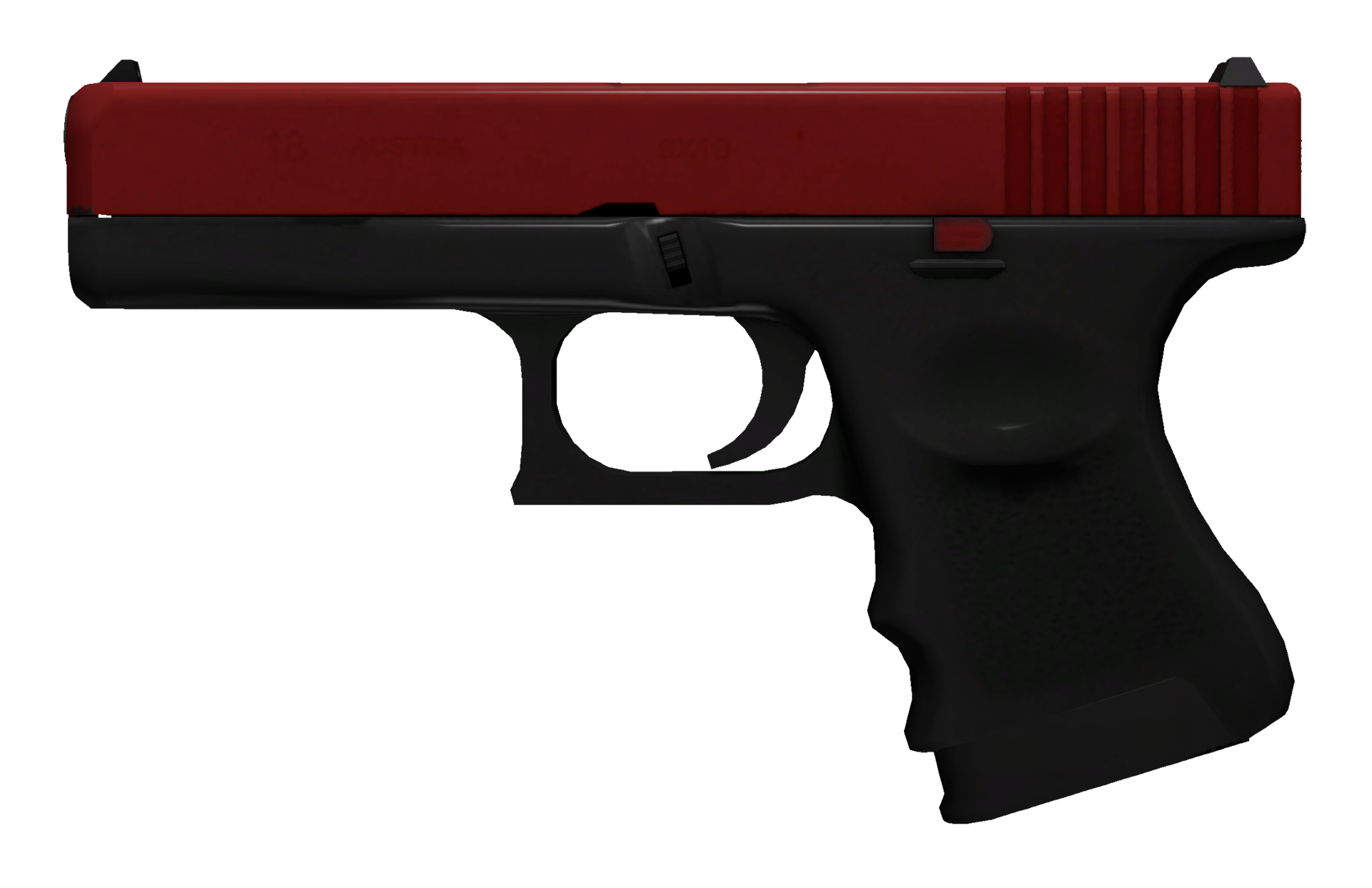 Glock-18 Candy Apple Large Rendering