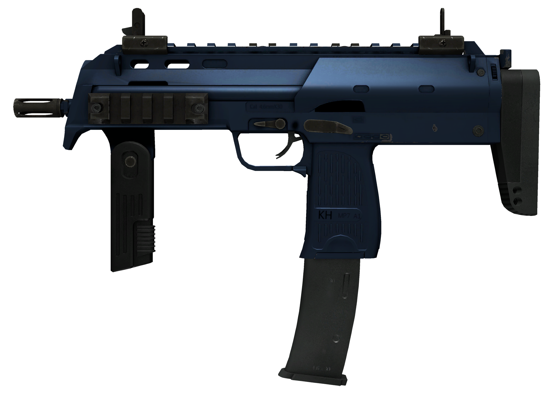 MP7 Anodized Navy Large Rendering