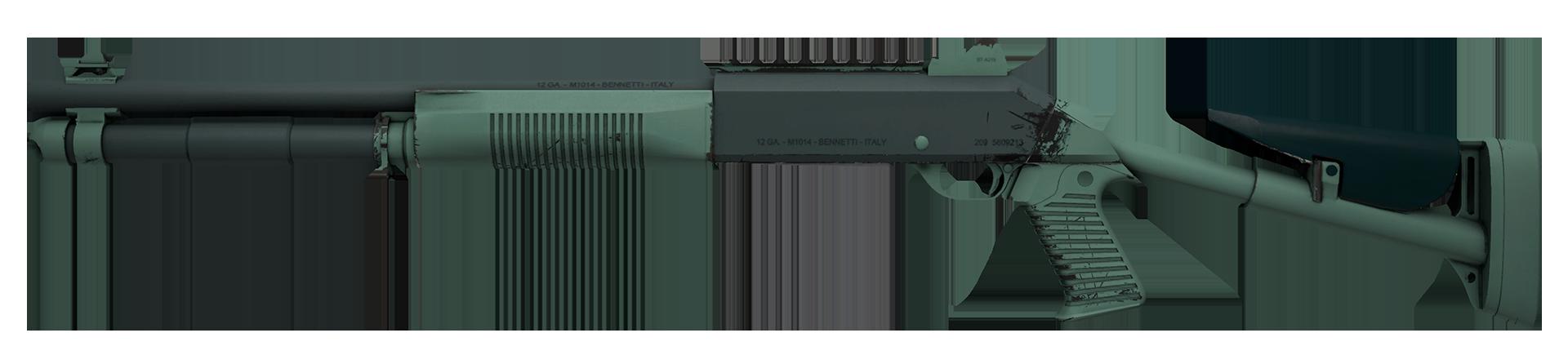 XM1014 Blue Spruce Large Rendering