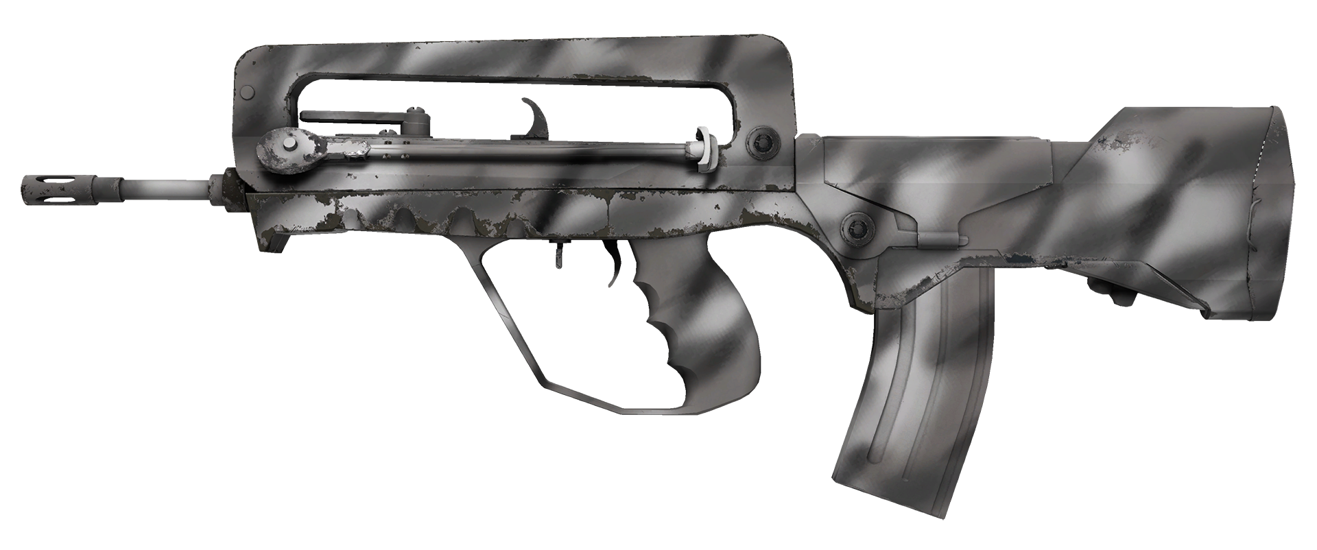 FAMAS Contrast Spray Large Rendering