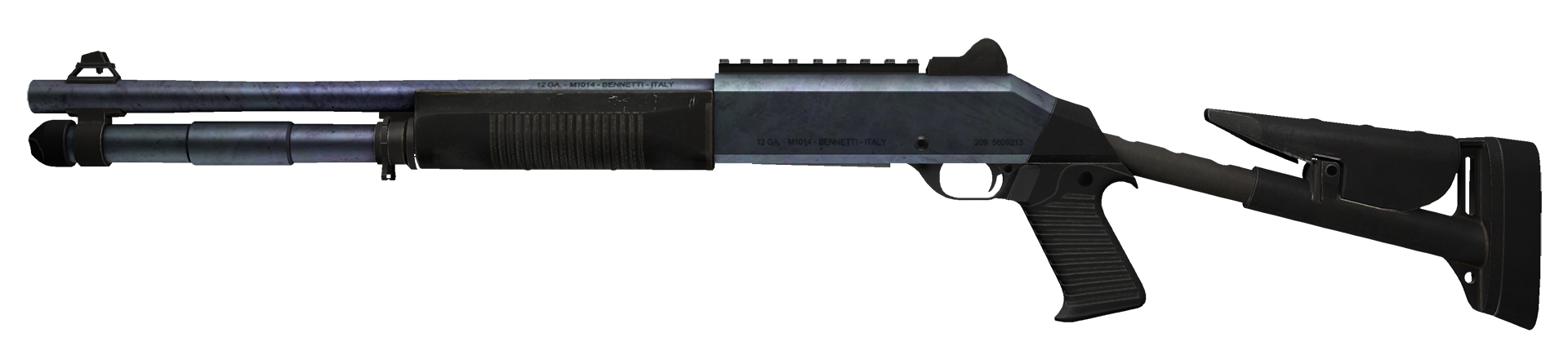 XM1014 Blue Steel Large Rendering