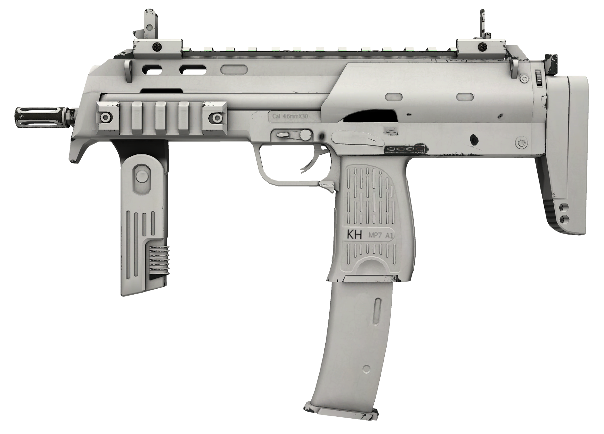 MP7 Whiteout Large Rendering