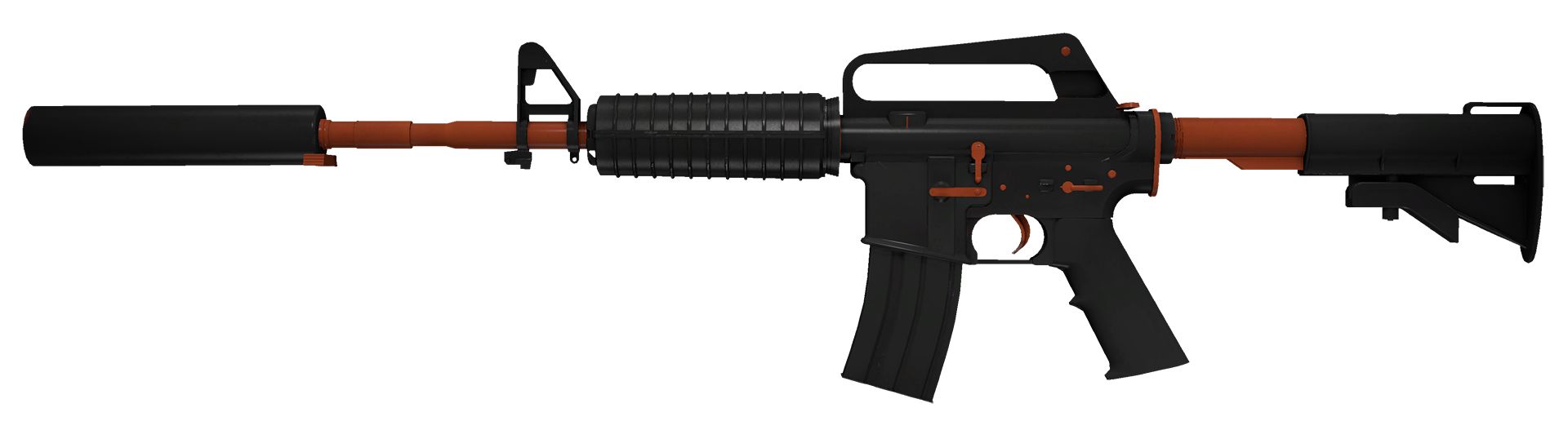 M4A1-S Nitro Large Rendering