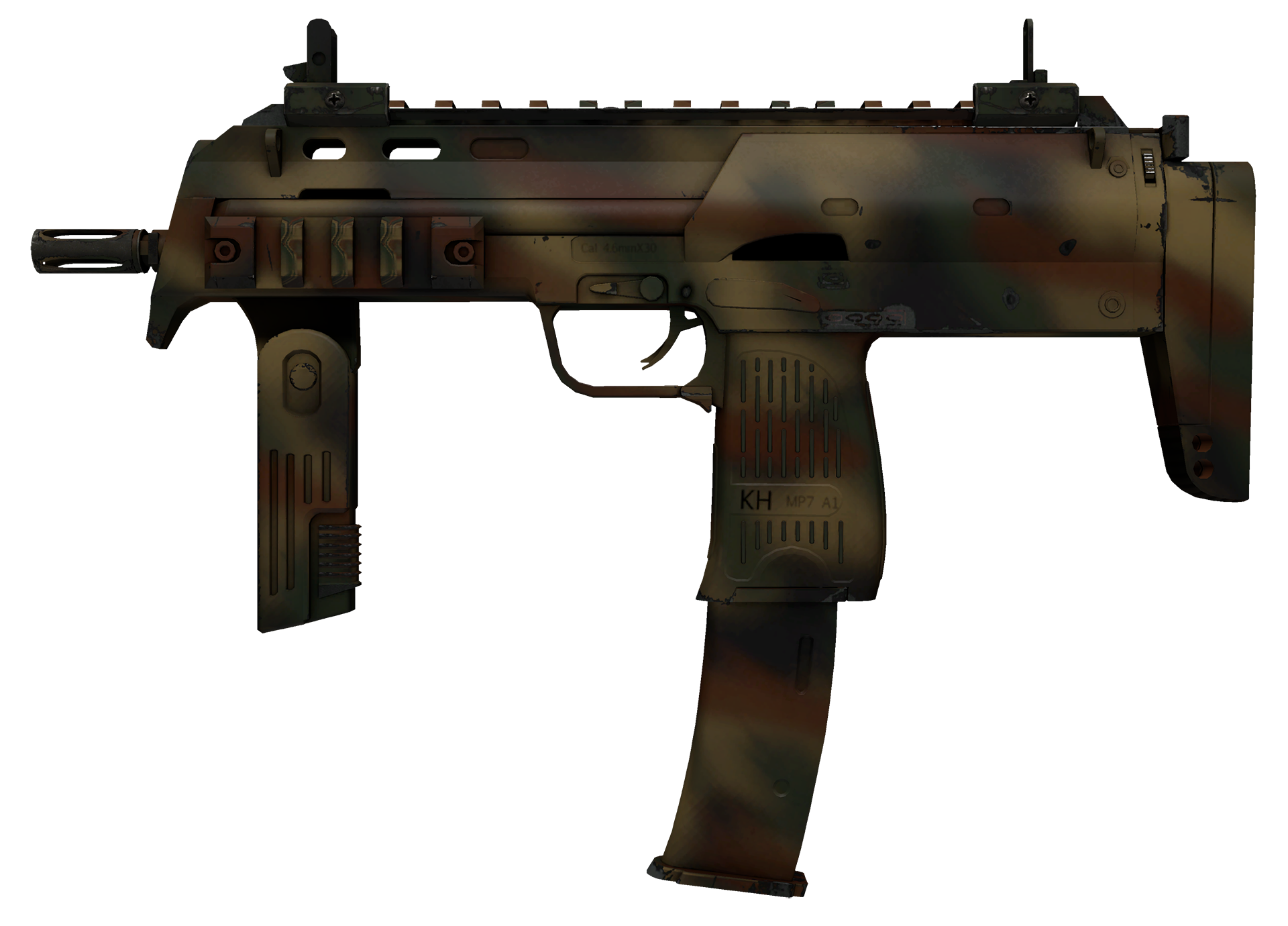 MP7 Army Recon Large Rendering