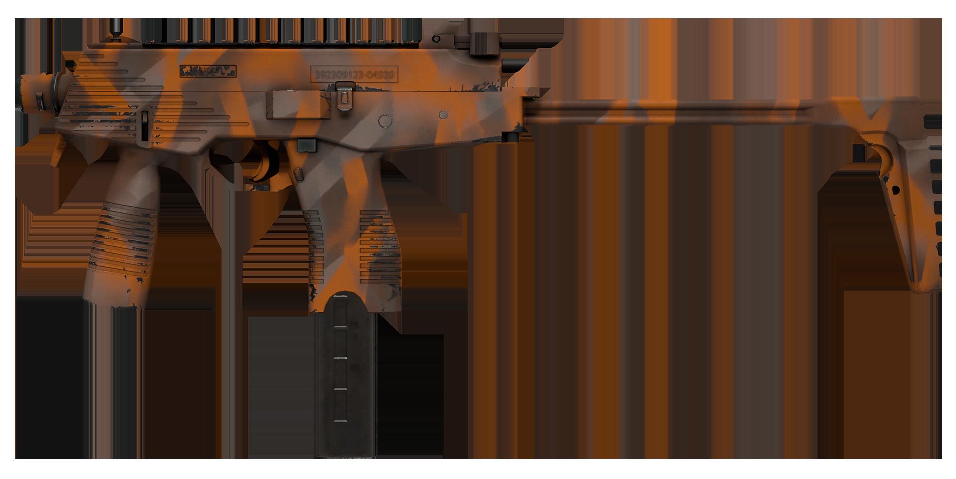 MP9 Orange Peel Large Rendering