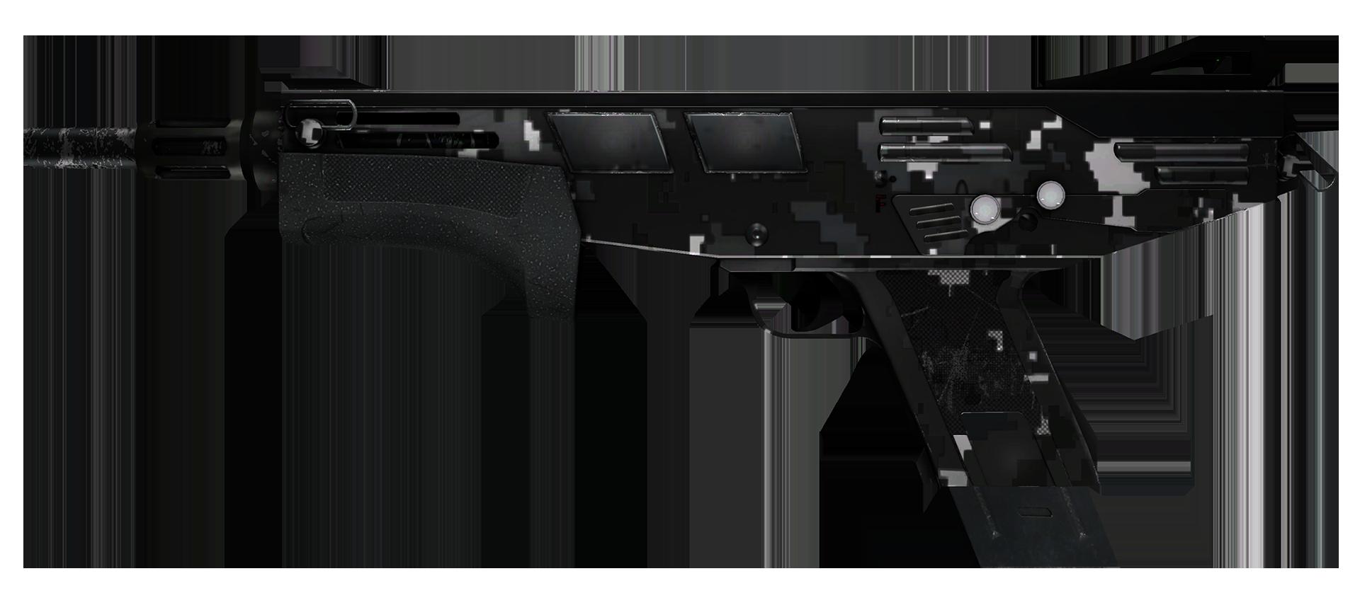 MAG-7 Metallic DDPAT Large Rendering