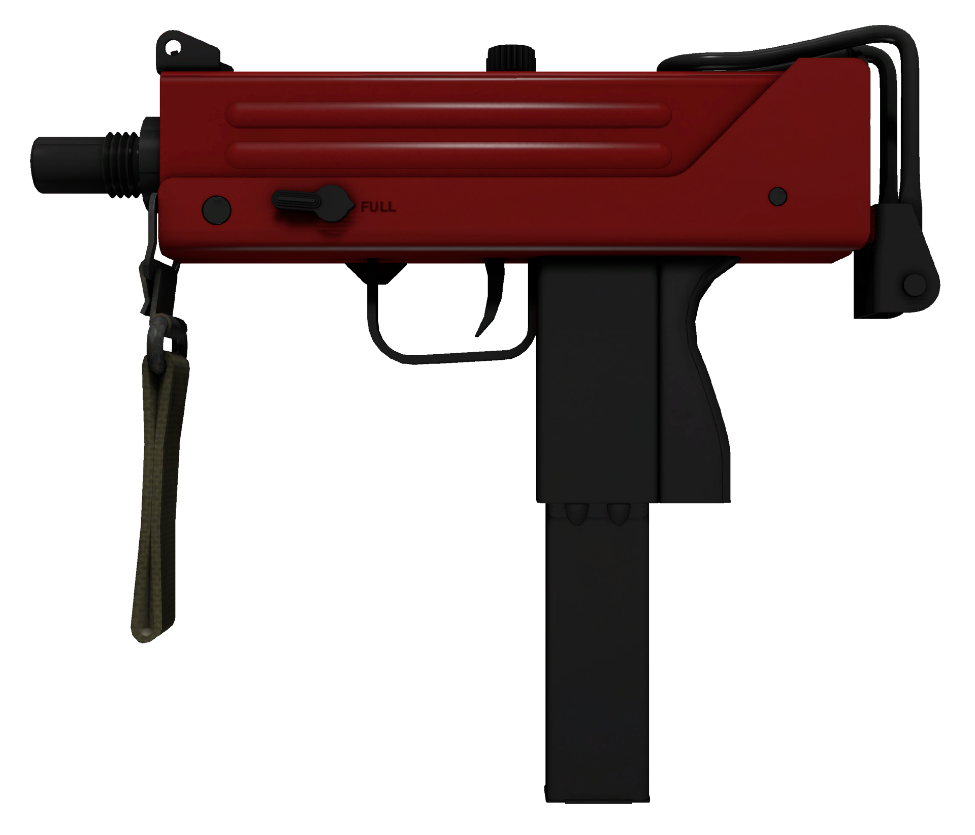 MAC-10 Candy Apple Large Rendering