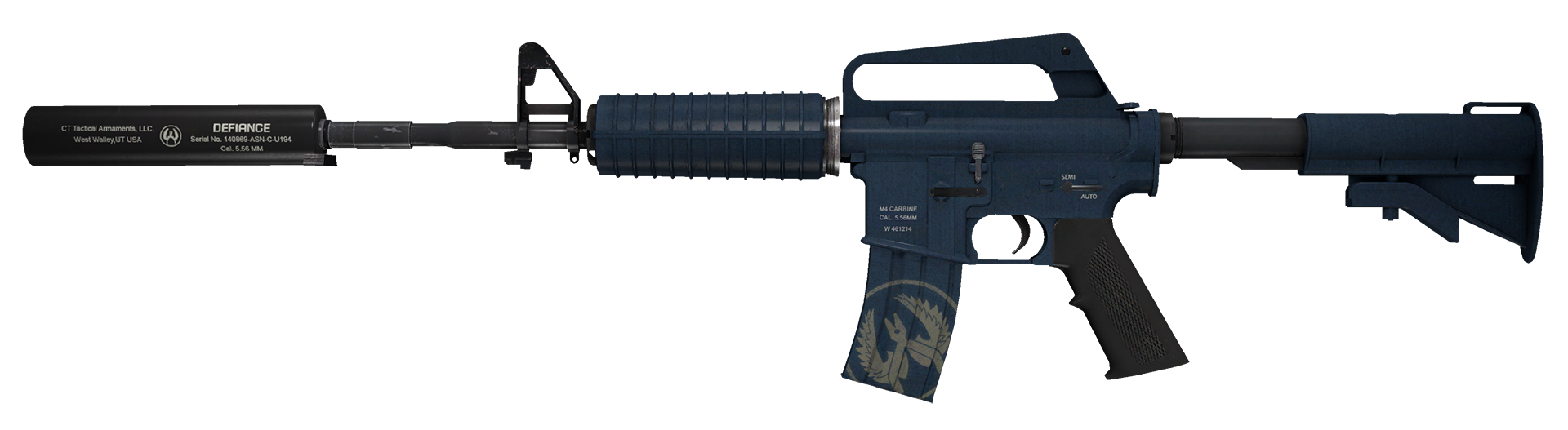 M4A1-S Guardian Large Rendering