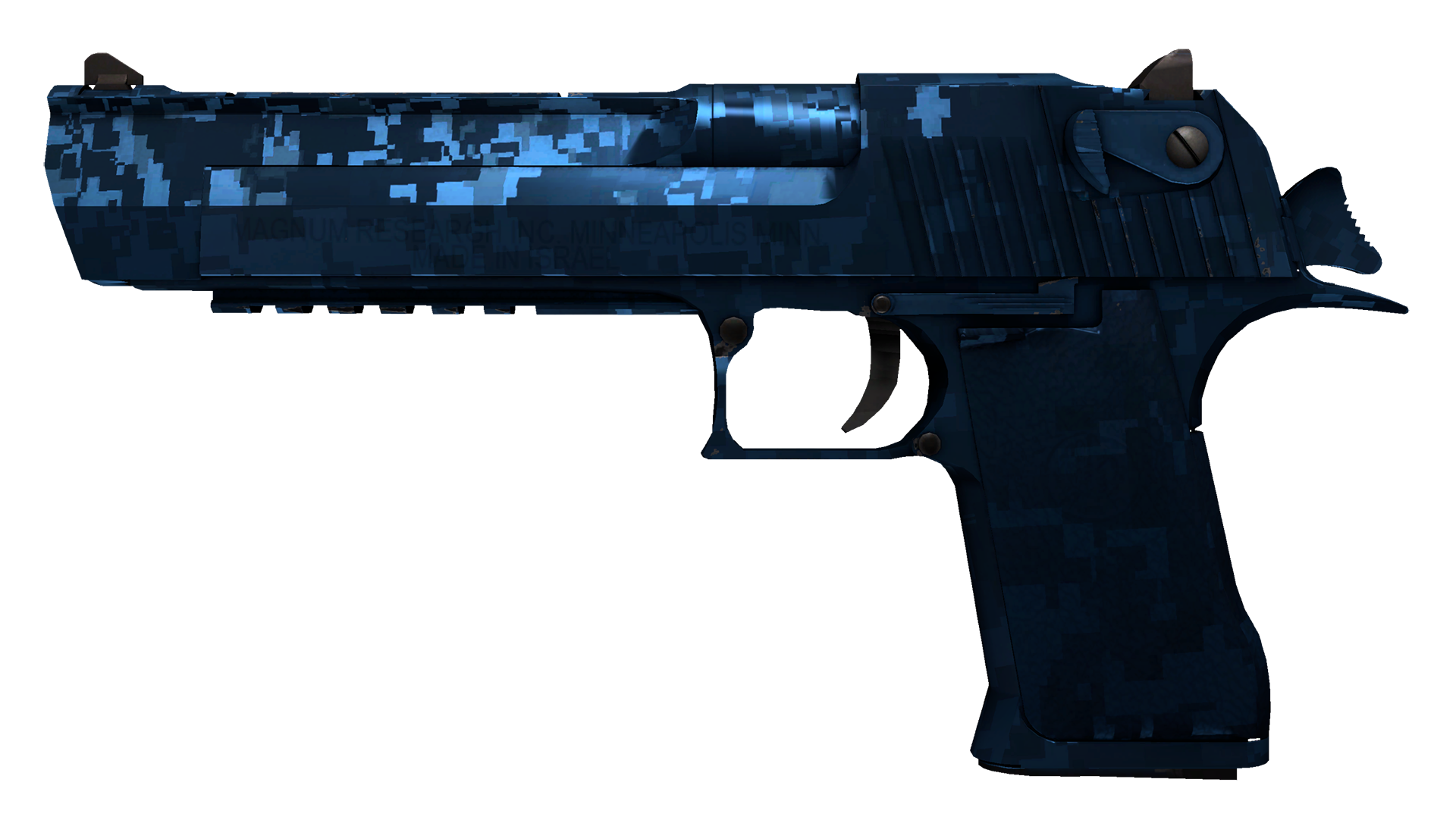 Desert Eagle Cobalt Disruption Large Rendering