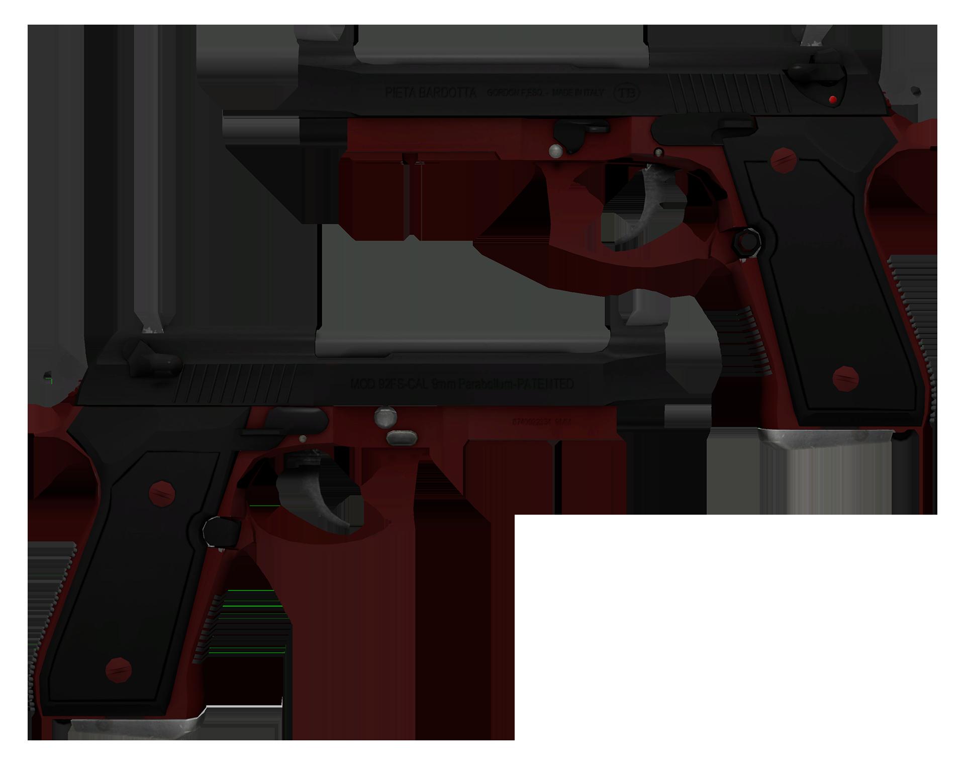 Dual Berettas Panther Large Rendering