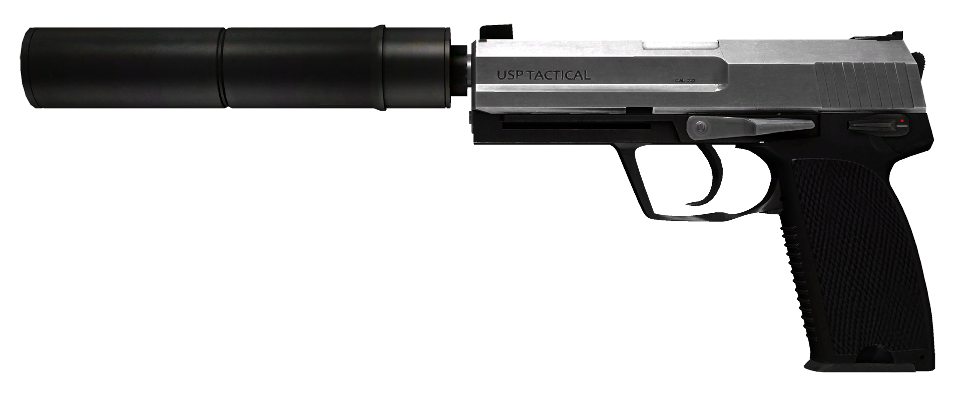USP-S Stainless Large Rendering
