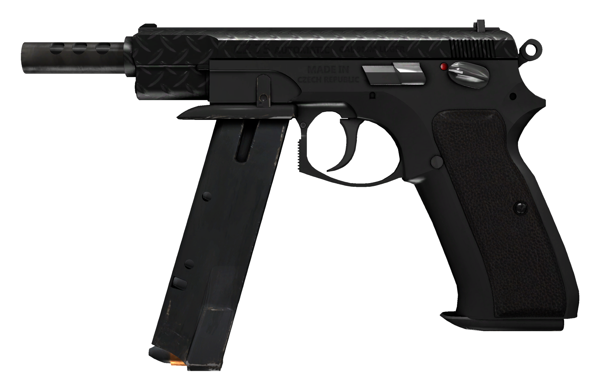 CZ75-Auto Tread Plate Large Rendering