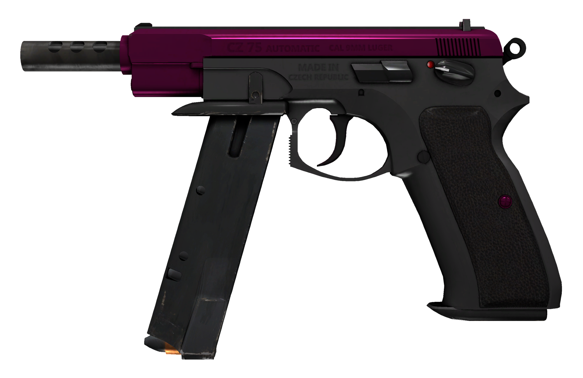 CZ75-Auto The Fuschia Is Now Large Rendering
