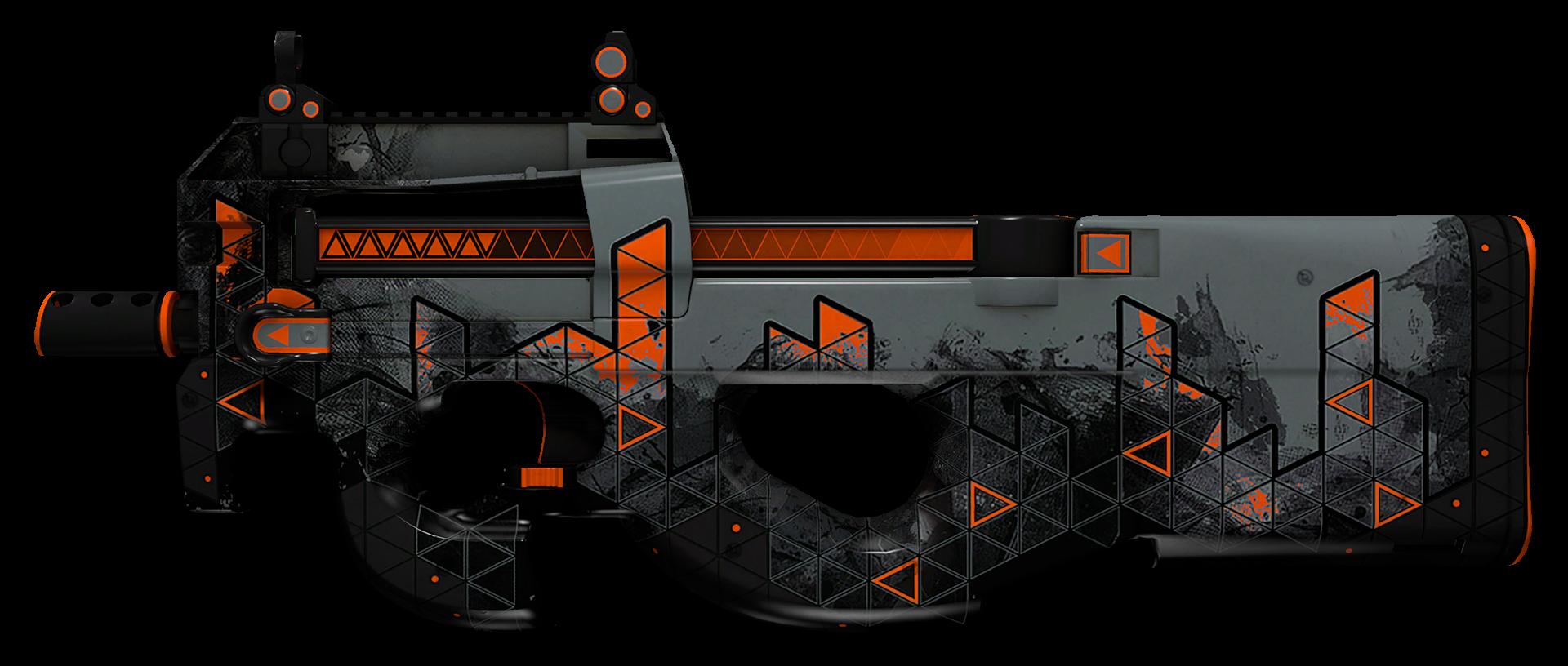 P90 Trigon Large Rendering