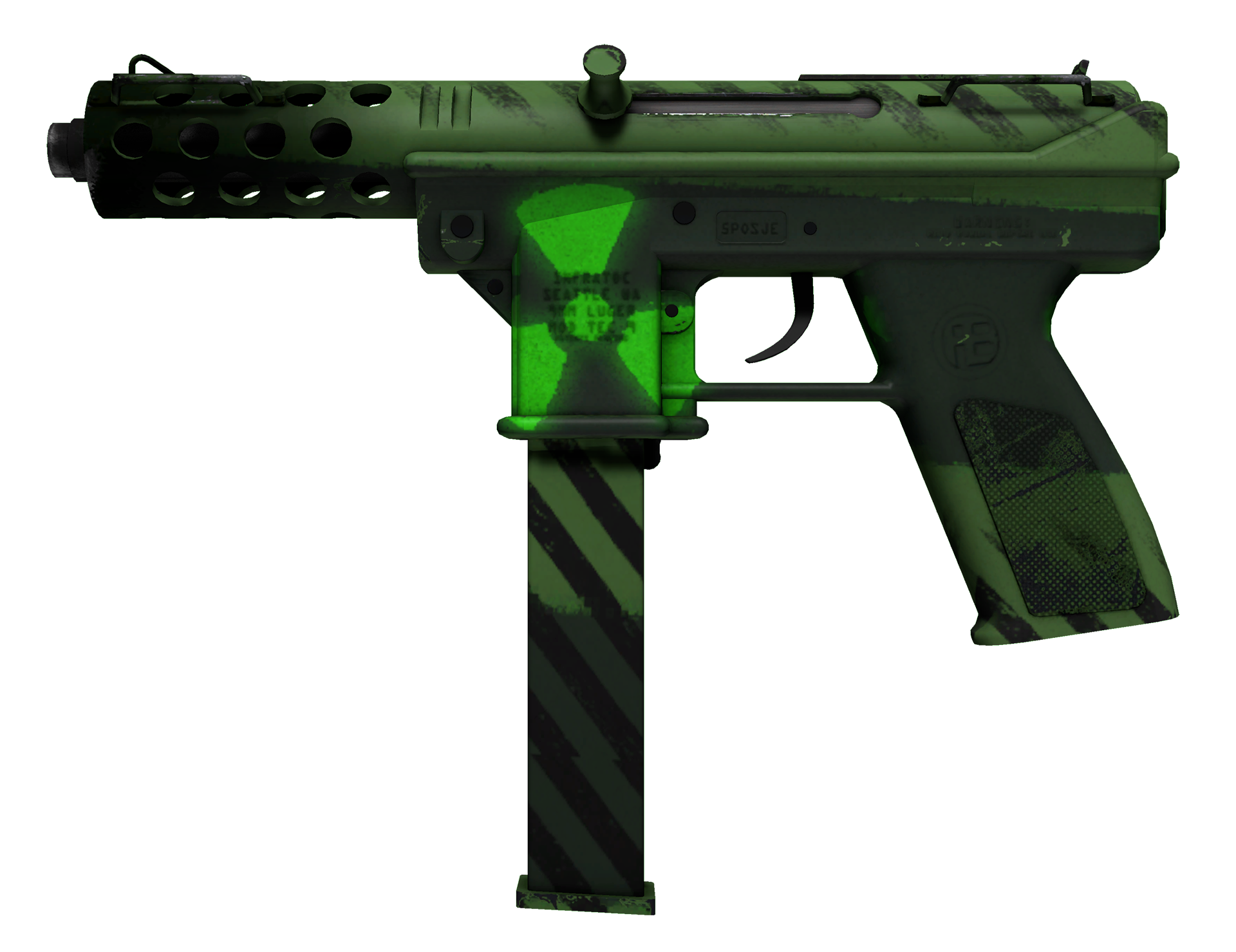 Tec-9 Nuclear Threat Large Rendering