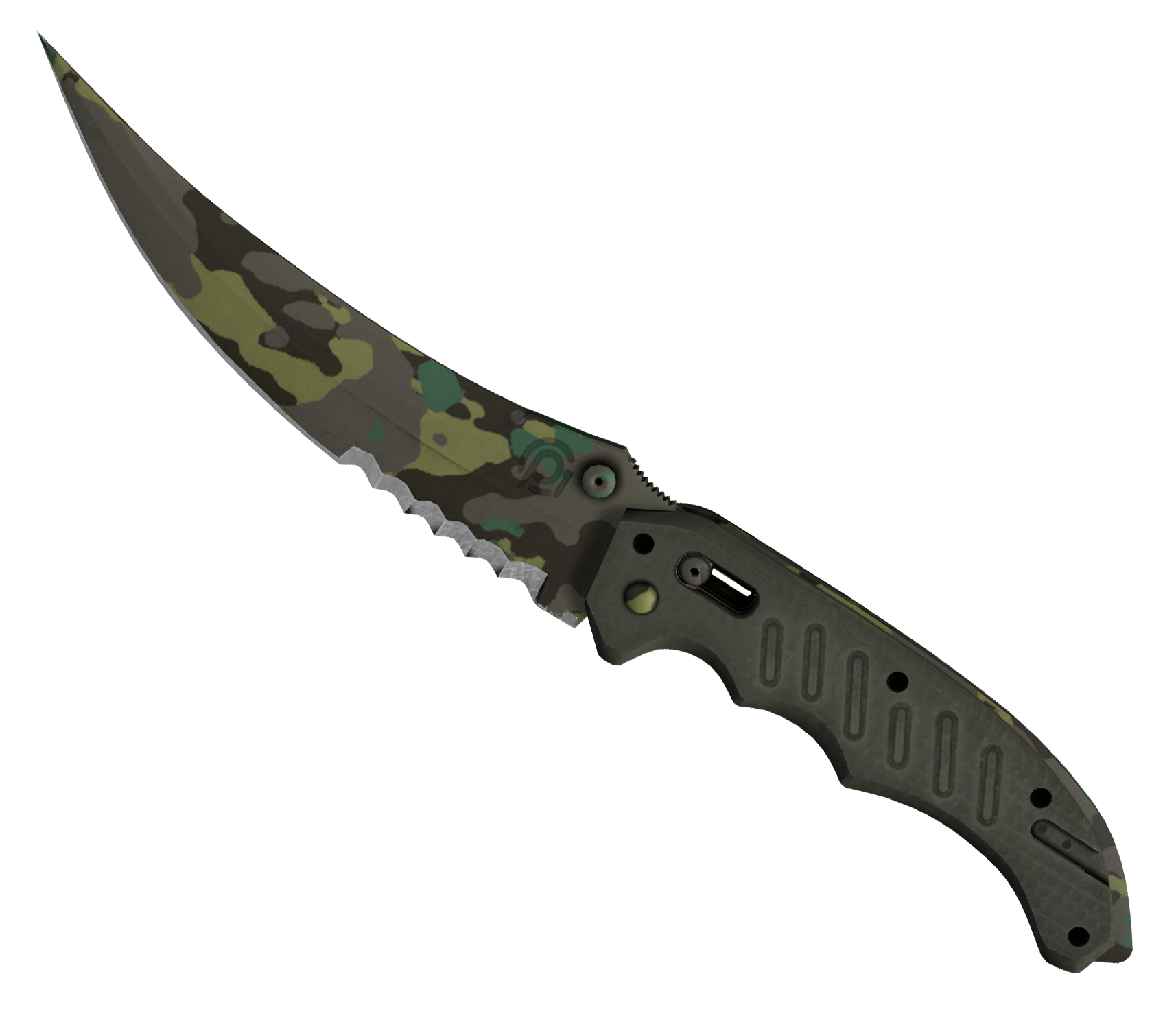 Flip Knife Boreal Forest Large Rendering