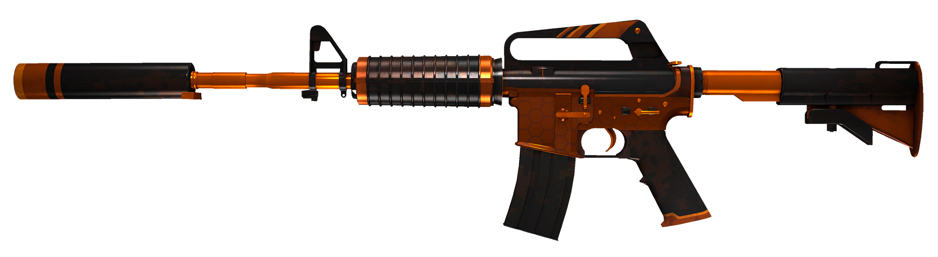 M4A1-S Atomic Alloy Large Rendering