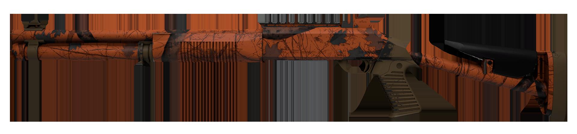 XM1014 Blaze Orange Large Rendering