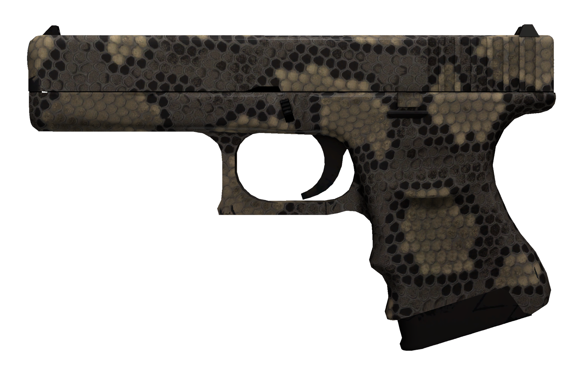Glock-18 Death Rattle Large Rendering