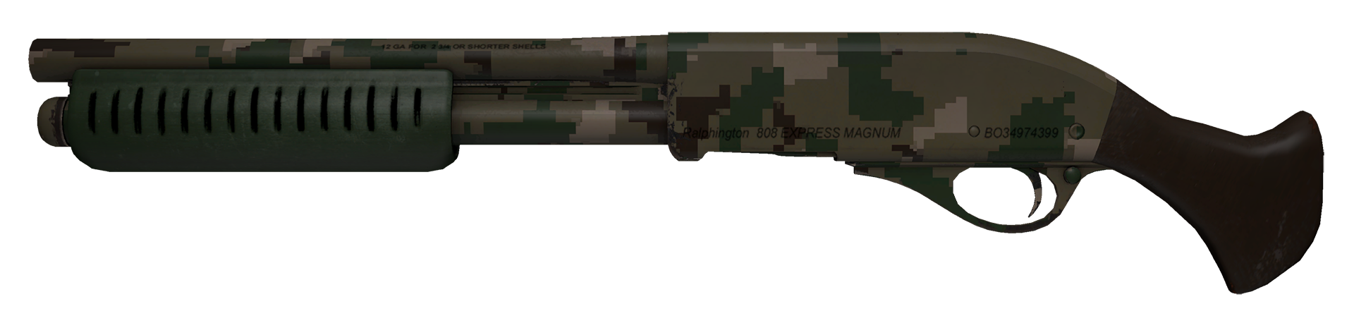 Sawed-Off Forest DDPAT Large Rendering