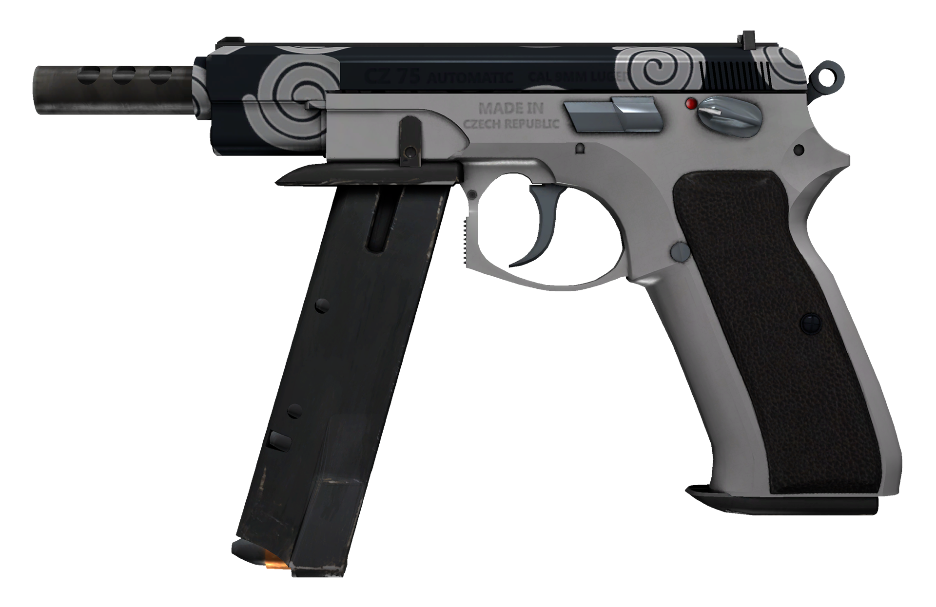 CZ75-Auto Twist Large Rendering