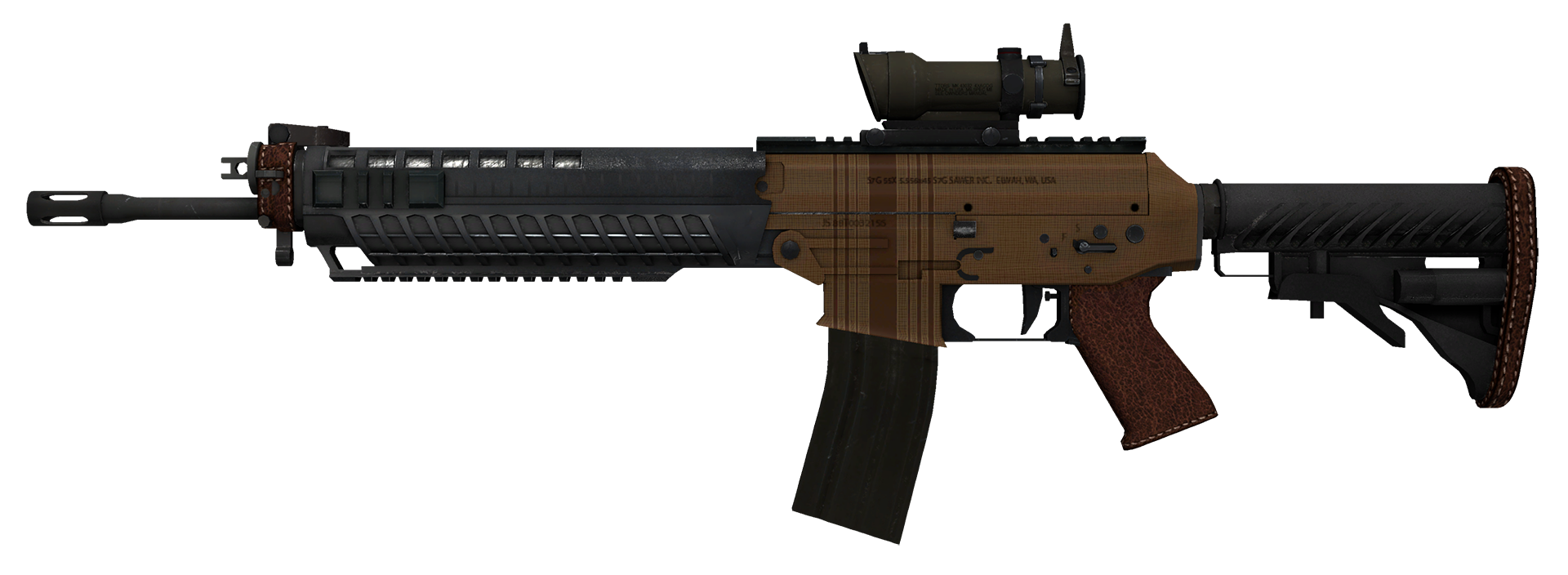 SG 553 Traveler Large Rendering
