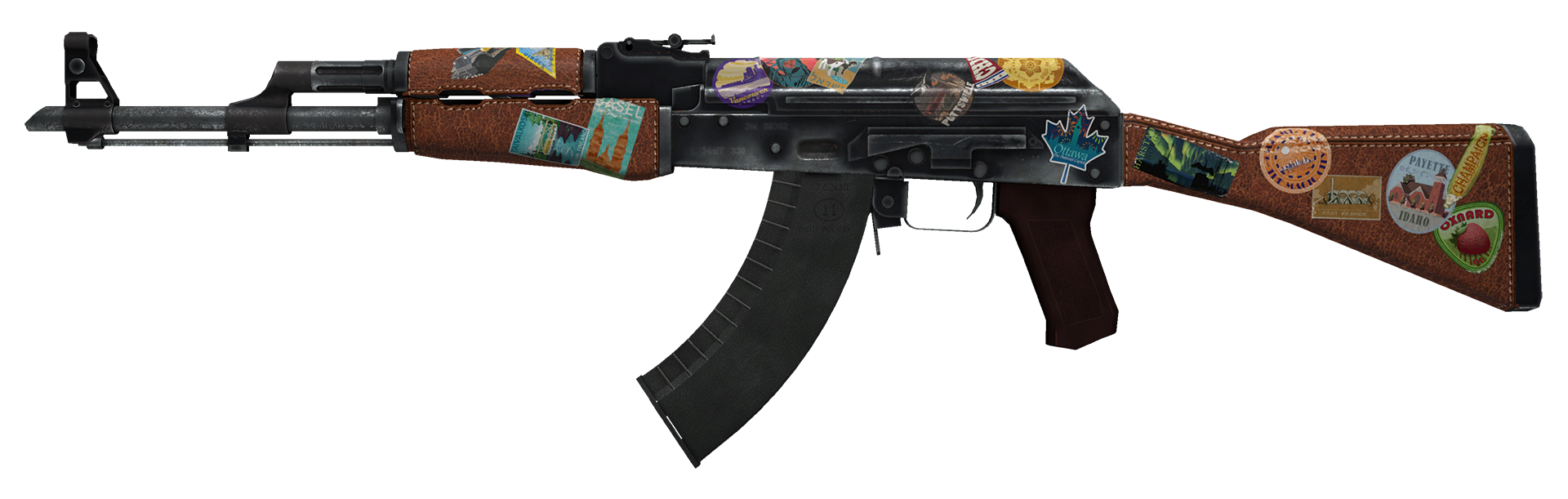 AK-47 Jet Set Large Rendering