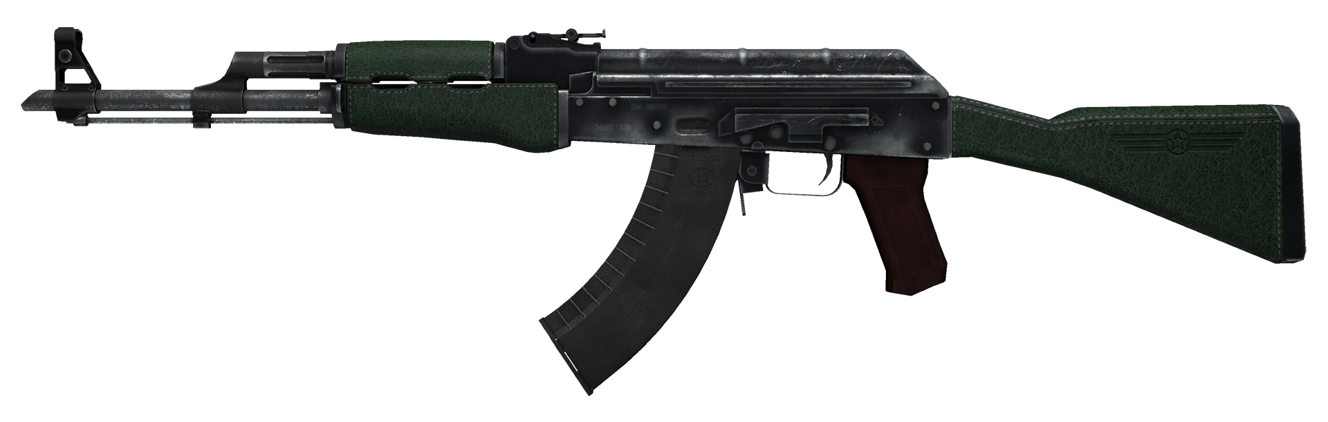 AK-47 First Class Large Rendering