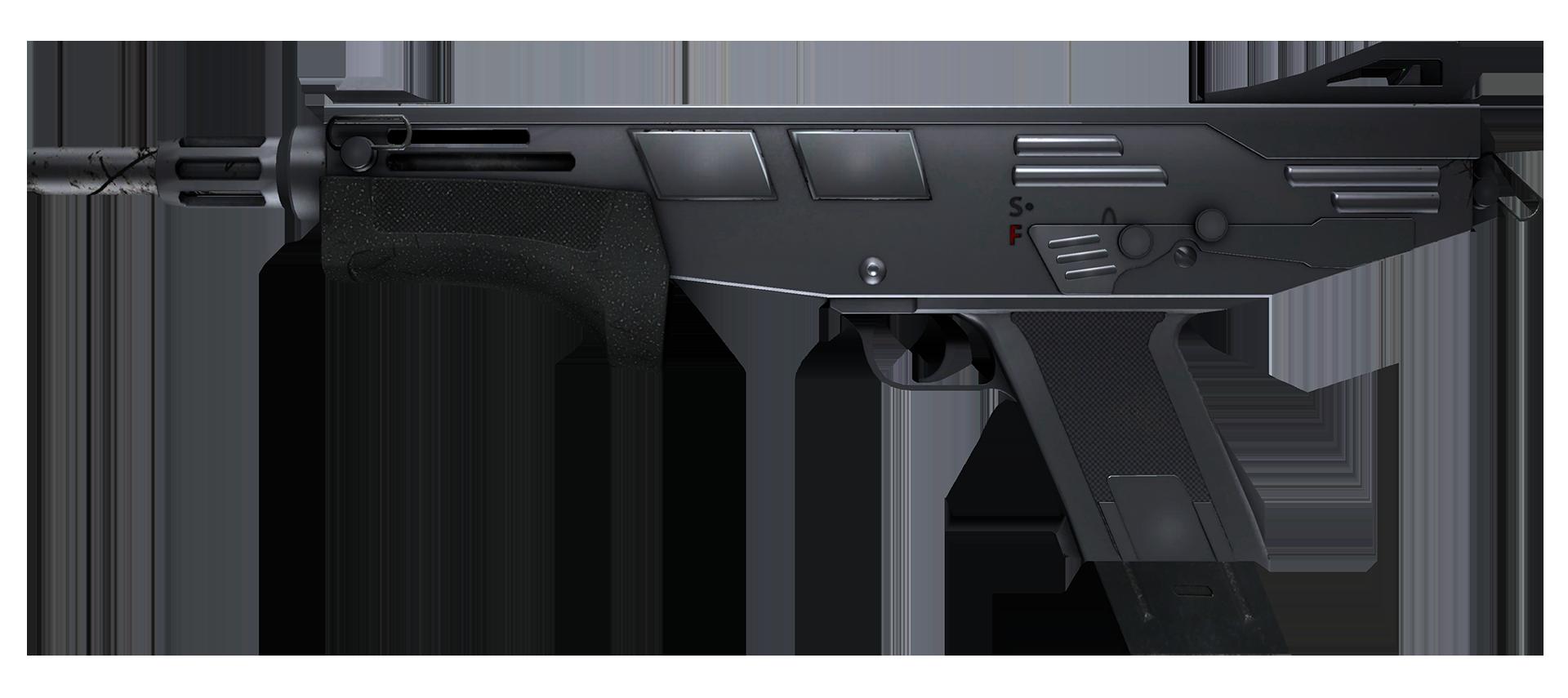 MAG-7 Silver Large Rendering
