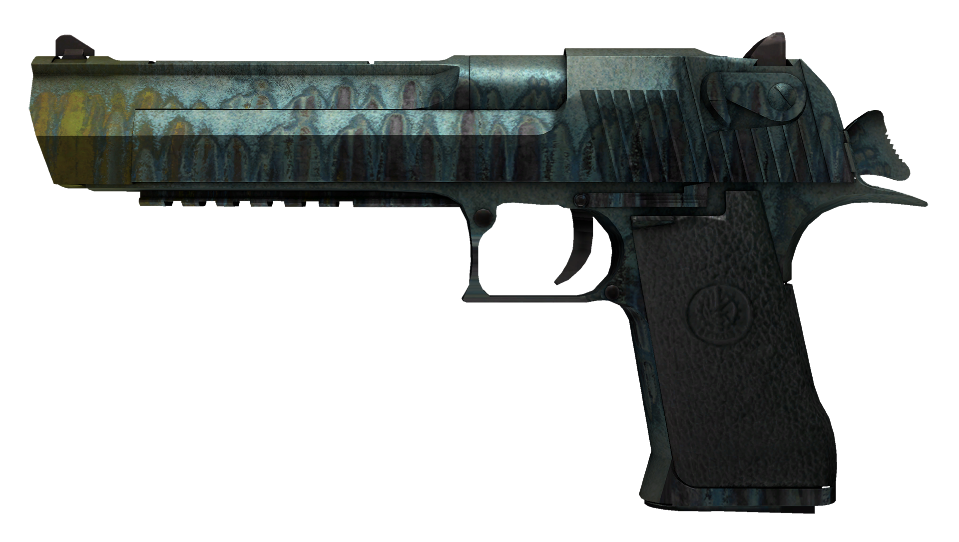Desert Eagle Hand Cannon Large Rendering
