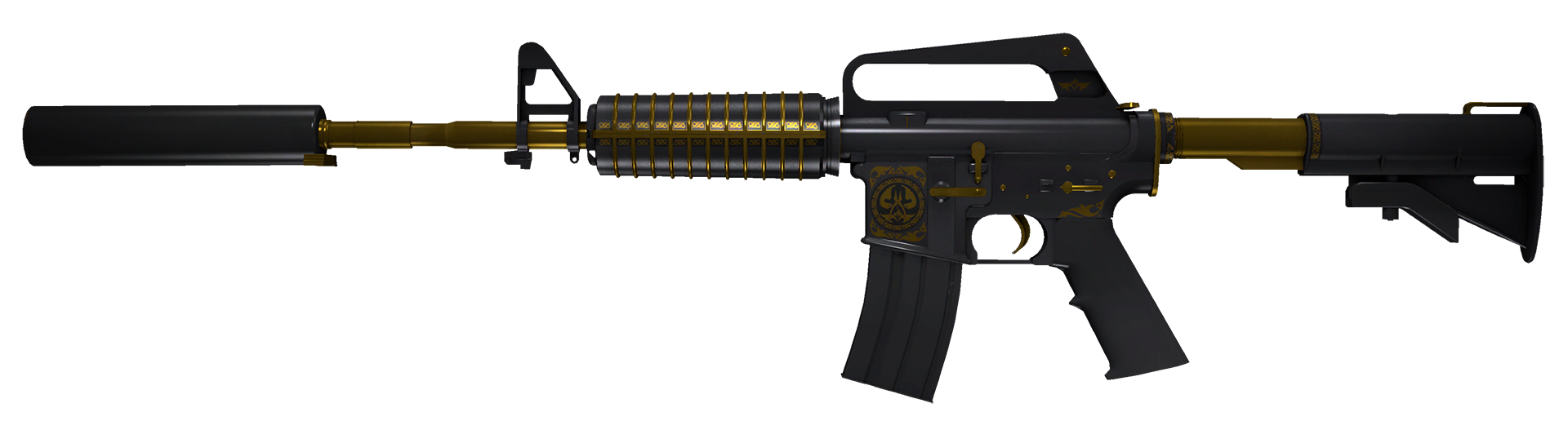 M4A1-S Knight Large Rendering