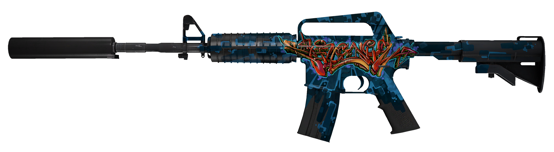 M4A1-S Master Piece Large Rendering