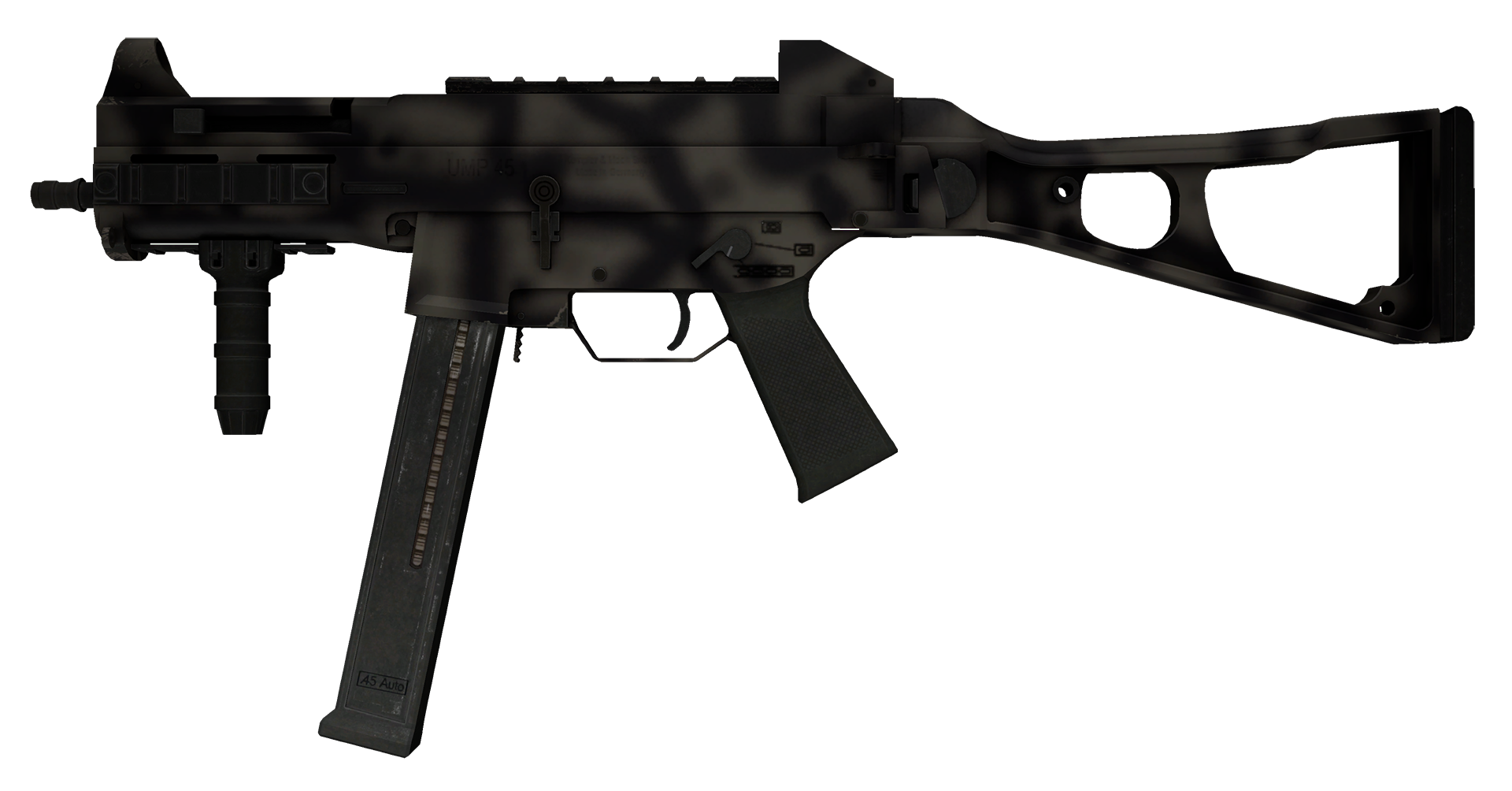 UMP-45 Scorched Large Rendering
