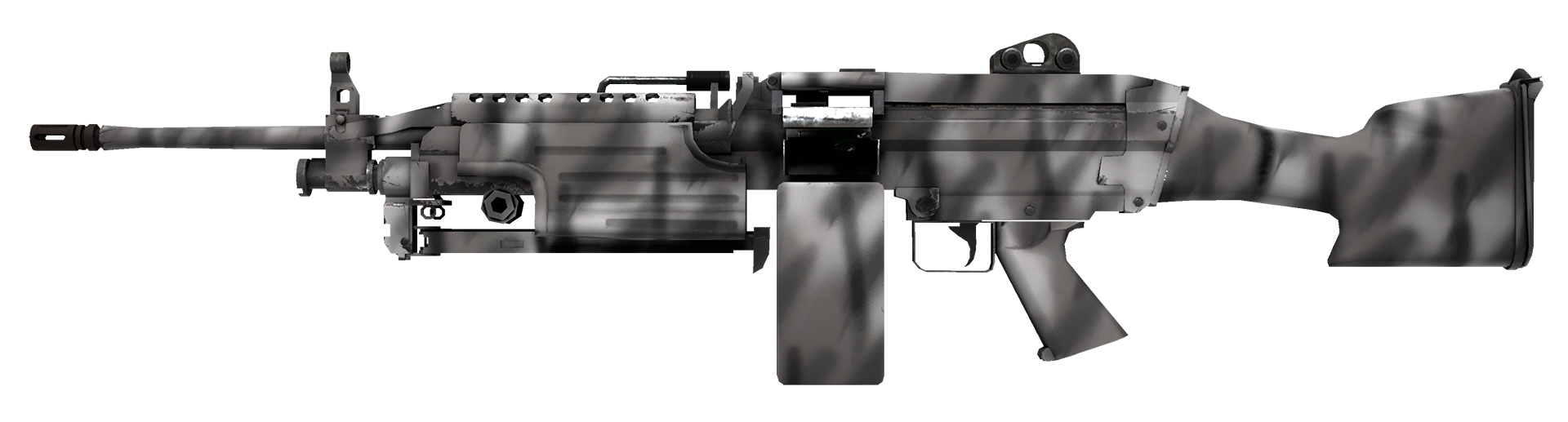 M249 Contrast Spray Large Rendering