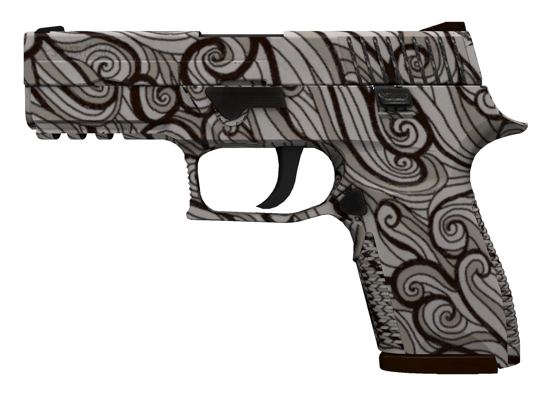 P250 Gunsmoke Large Rendering